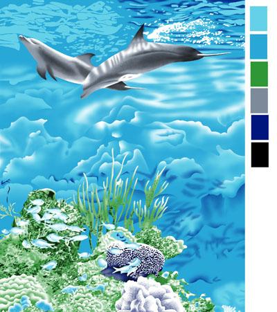 壁纸 海底 海底世界 海洋馆 水族馆 400_451
